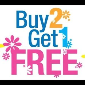 Other - Buy 2 items Get 1 Free